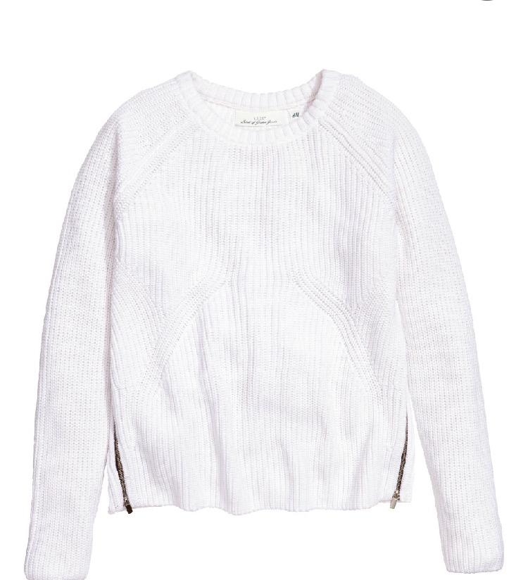 H & M zipped sweater