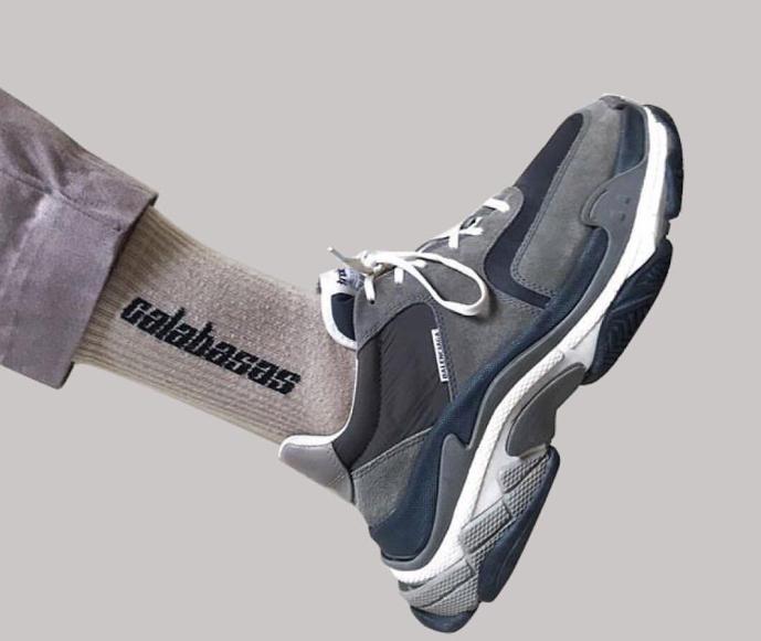 Balenciaga Sneaker and Yezzey 'Calabasas' sock