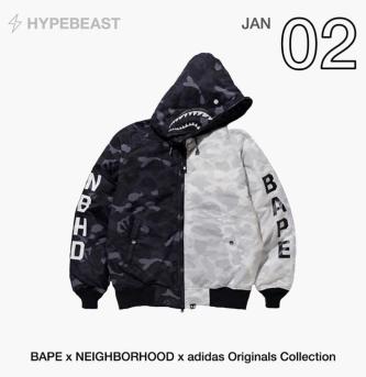BAPE x NEIGHBORHOOD x Adidas Orginal Collection