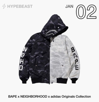 BAPE x NEIGHBORHOOD x Adidas Orginal Collection