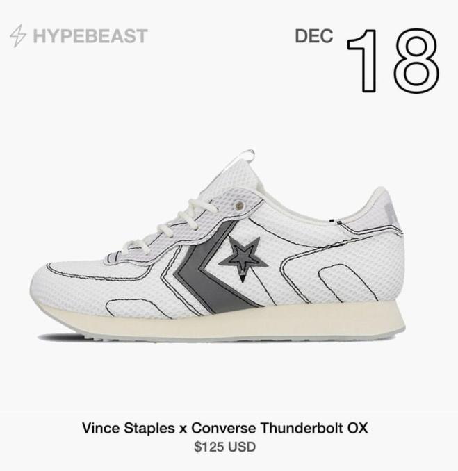 Vince Staple x Converse